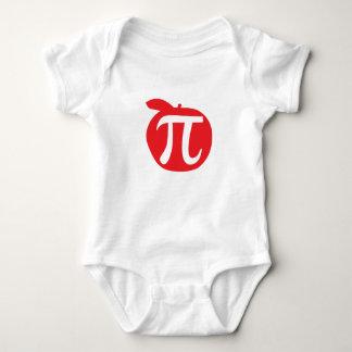 Apple Pi Symbol Baby Bodysuit