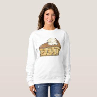 Apple Pie a la Mode Slice Dessert Sweatshirt