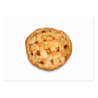 Apple Pie (Add Background Color) Pack Of Chubby Business Cards