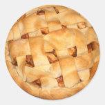 Apple Pie (Add Background Colour) Sticker