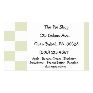 Apple Pie Colors Business Cards