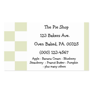 Apple Pie Colors Pack Of Standard Business Cards