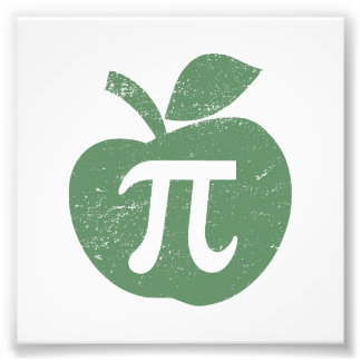 Apple Pie Pi Day Art Photo