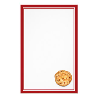 Apple Pie Stationery Design