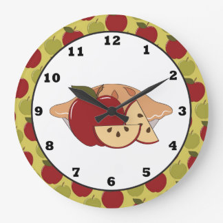 Apple Pie Sweet Treat Wall clock