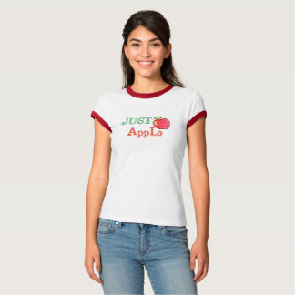 apple ringer t-shirt