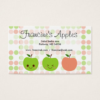 Apple Sass Business Card