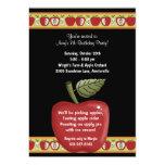 Apple Seeds - Party Invitation