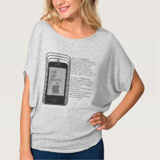 Apple size-matters tee shirt