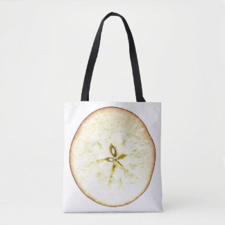 Apple Slice All-Over-Print Tote Bag