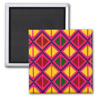"""Apple Slice"" magnet - shocking pink"