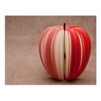 Apple Sliced Art Postcard