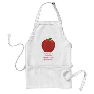 Apple Source of Vitamin C, Potassium Aprons