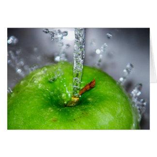 Apple Splash Card