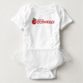 Apple Swoozle Baby Tutu Bodysuit