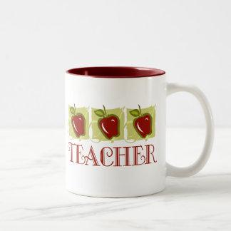 Apple Teacher School Gift Mug