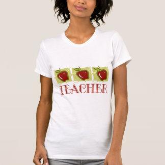 Apple Teacher School Gift T-shirt