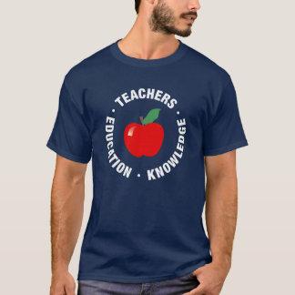 Apple, Teacher T-Shirt