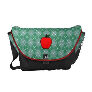 Apple Teacher's Messenger Bag Gift