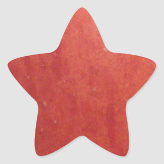 Apple Texture Star Sticker
