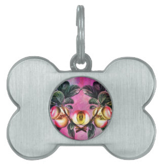 APPLE TIME AGAIN PET ID TAGS
