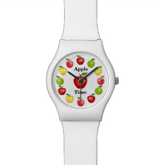 Apple Time, Delicious, Granny Smith, Pink Variety Watch