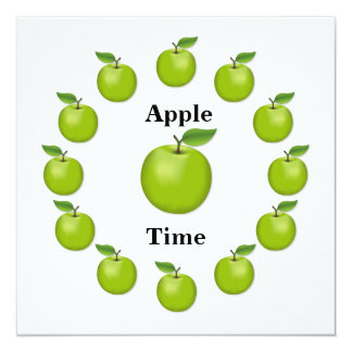Apple Time, Granny Smith Card