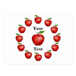 Apple Time, Red Delicious Postcard