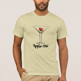 Apple-tini Martini T-Shirt