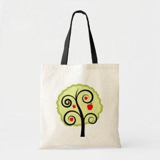 Apple Tree Budget Tote Bag