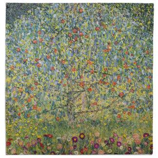 Apple Tree by Gustav Klimt, Vintage Art Nouveau Napkin