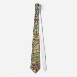 Apple Tree by Gustav Klimt, Vintage Art Nouveau Tie