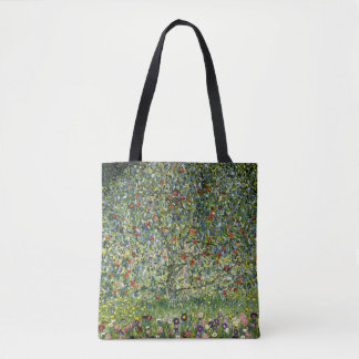Apple Tree by Gustav Klimt Vintage Fine Art Tote Bag