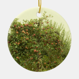 Apple Tree Ceramic Ornament