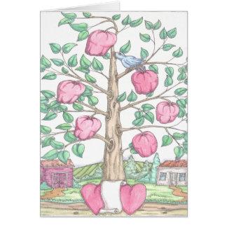 Apple Tree Greeting Card