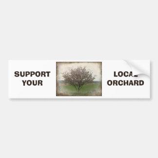 Apple Tree in Bloom Bumper Sticker