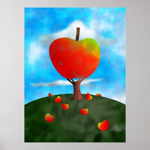 Apple Tree Print