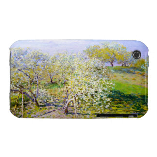 Apple Trees in Bloom, 1873 Claude Monet Case-Mate iPhone 3 Cases