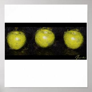 Apple Trio Poster