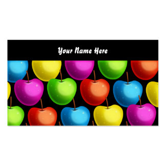 Apple Wallpaper, Your Name Here Business Card Template