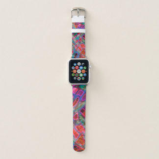 Apple Watch Bands Colorful Stained Glass