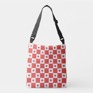 """Applegarth"" Red Cross Body Bag"