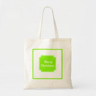 Applegreen Merry Christmas Holiday Tote Bag