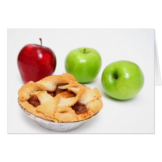 Apples And Apple Pie For One Card