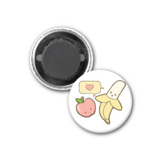 Apples and Bananas (textless) Refrigerator Magnet