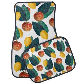 Apples And Lemons Car Mat