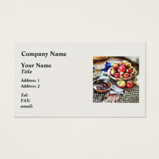 Apples And Nuts Business Card
