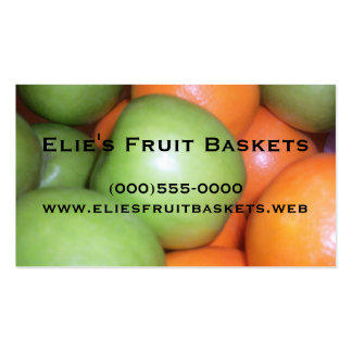 """""""Apples and Oranges"""" Business Cards"""
