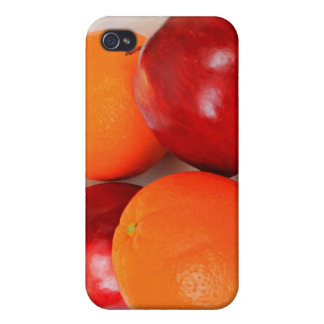 Apples and Oranges iPhone 4 Covers