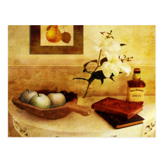 Apples and Pears in a Hallway Postcard